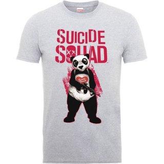 DC COMICS Suicide Squad Panda Squad Wht, Tシャツ