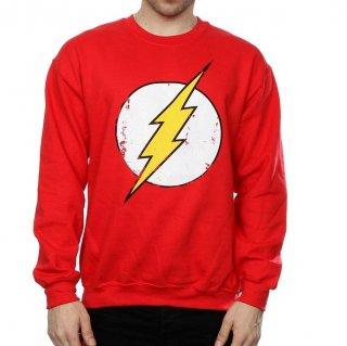DC COMICS The Flash Distressed Logo, スウェットシャツ