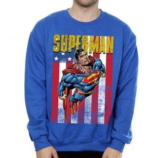 DC COMICS Superman Flight Blue, スウェットシャツ