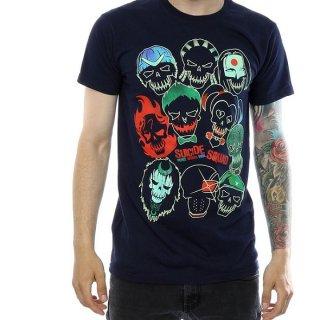 DC COMICS Suicide Squad Band of Skulls, Tシャツ