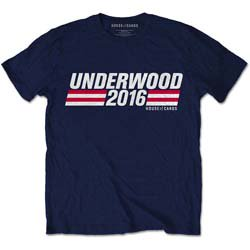 HOUSE OF CARDS Underwood Campaign, Tシャツ