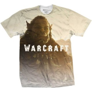 WORLD OF WARCRAFT Durotan Fade with Sublimation Printing, Tシャツ