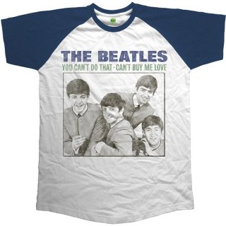 THE BEATLES You Can't Do That - Can't Buy Me Love, ラグランTシャツ
