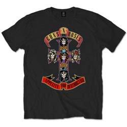GUNS N' ROSES Appetite For Destruction, Tシャツ
