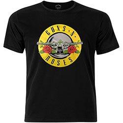 GUNS N' ROSES Circle Logo with Foiled Application, Tシャツ