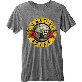 GUNS N' ROSES Bullet Logo (Burn Out), Tシャツ