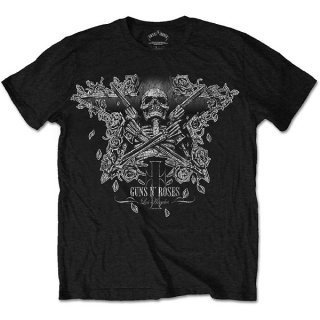 GUNS N' ROSES Skeleton Guns, Tシャツ