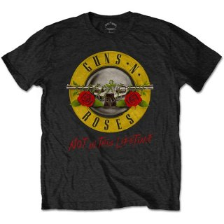 GUNS N' ROSES Not in this Lifetime Tour with Back Print, Tシャツ