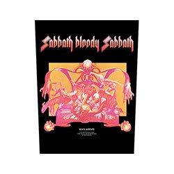 BLACK SABBATH Sabbath Bloody Sabbath, バックパッチ