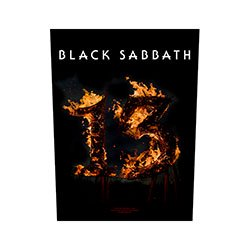 BLACK SABBATH 13 Back, バックパッチ