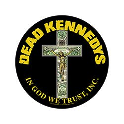 DEAD KENNEDYS In God We Trust, バックパッチ