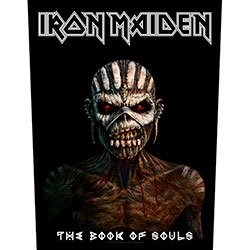 IRON MAIDEN The Book Of Souls, バックパッチ