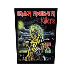 IRON MAIDEN Killers, バックパッチ