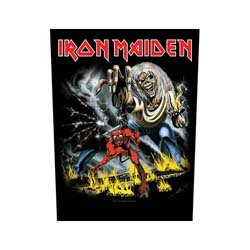 IRON MAIDEN Number of the Beast, バックパッチ