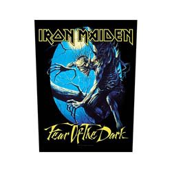 IRON MAIDEN Fear Of The Dark, バックパッチ