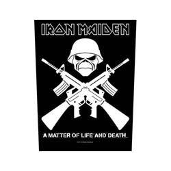 IRON MAIDEN Crossed Guns, バックパッチ