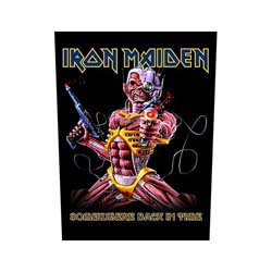 IRON MAIDEN Somewhere Back In Time, バックパッチ