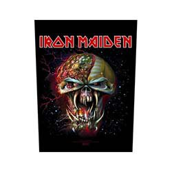 IRON MAIDEN The Final Frontier Face, バックパッチ