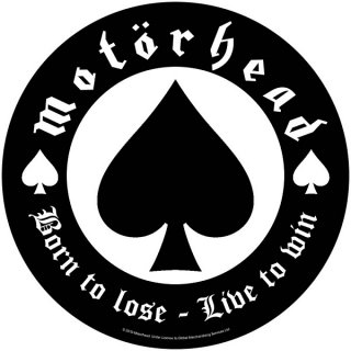 MOTORHEAD Born To Lose, バックパッチ
