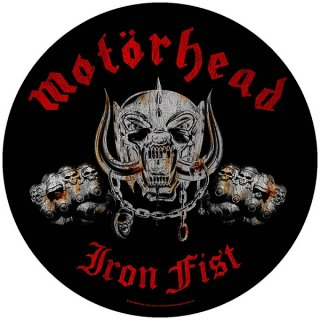 MOTORHEAD Iron Fist, バックパッチ