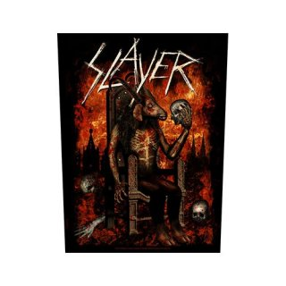 SLAYER Devil On Throne, バックパッチ