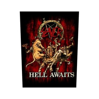 SLAYER Hell Awaits, バックパッチ
