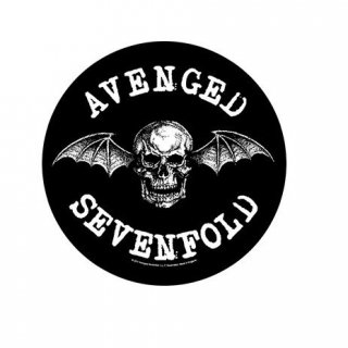 AVENGED SEVENFOLD Death Bat, バックパッチ