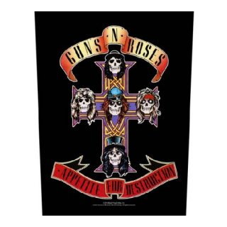 GUNS N' ROSES Appetite For Destruction, バックパッチ