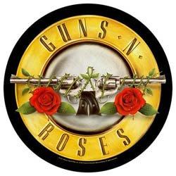 GUNS N' ROSES Bullet Logo, バックパッチ