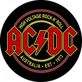 AC/DC High Voltage Rock N Roll, バックパッチ