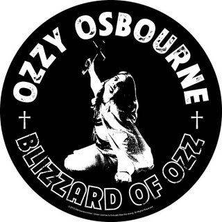 OZZY OSBOURNE Blizzard Of Ozz, バックパッチ
