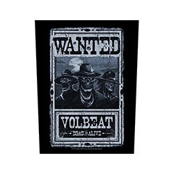 VOLBEAT Wanted, バックパッチ