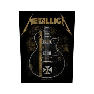 METALLICA Hetfield Guitar, バックパッチ