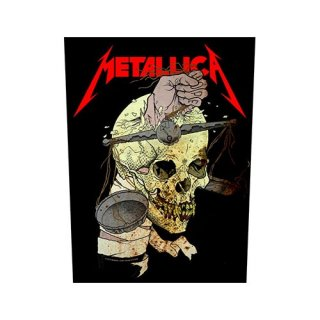 METALLICA Harvester Of Sorrow, バックパッチ