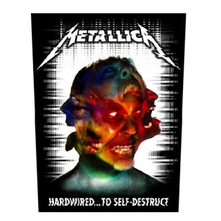 METALLICA Hardwired To Self Destruct, バックパッチ