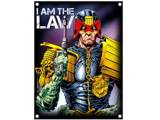 2000AD I am the law, 布製ポスター