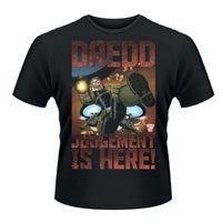JUDGE DREDD Judgement Is Here, Tシャツ