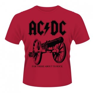 AC/DC For Those About To Rock Red, Tシャツ