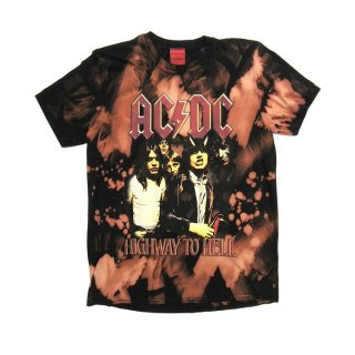AC/DC Highway To Hell (bleach), Tシャツ