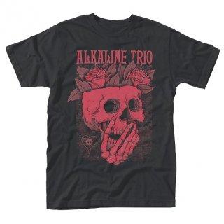ALKALINE TRIO Skull Rose, Tシャツ
