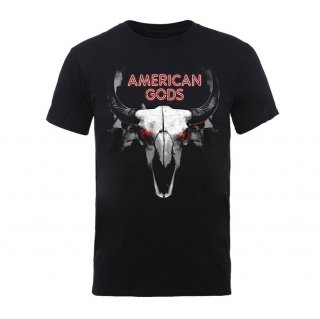 AMERICAN GODS Buffalo Skull, Tシャツ