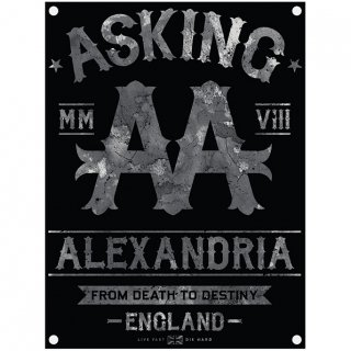 ASKING ALEXANDRIA Black Label, 布製ポスター