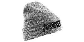 ASKING ALEXANDRIA Logo grey, ニットキャップ