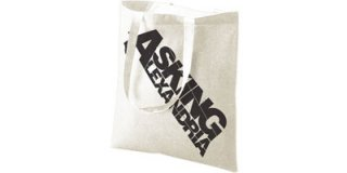 ASKING ALEXANDRIA Logo (natural), トートバッグ