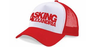 ASKING ALEXANDRIA Logo, キャップ