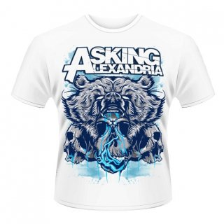 ASKING ALEXANDRIA Bear Skull, Tシャツ