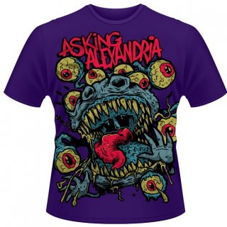 ASKING ALEXANDRIA Eyeballs, Tシャツ