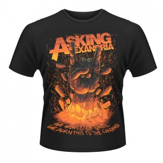 ASKING ALEXANDRIA Metal Hands, Tシャツ