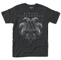 ASKING ALEXANDRIA Rotating Skull, Tシャツ