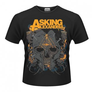 ASKING ALEXANDRIA Skull, Tシャツ